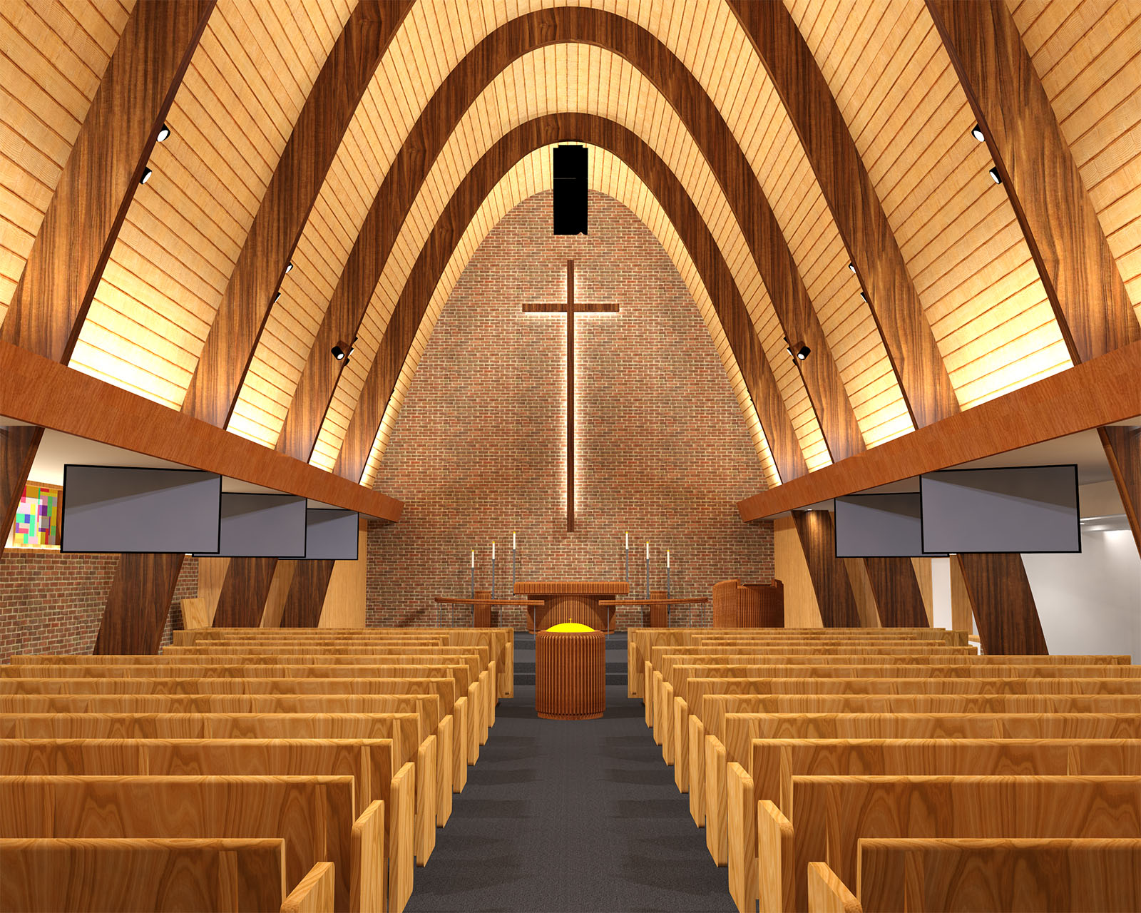 St Mark S Lutheran Church Sanctuary Enhancements Farris